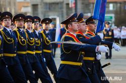 Репетиция торжественного построения войск Челябинского гарнизона. Челябинск, марш, парад