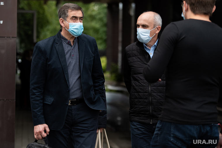 Прощание с хирургом Юрием Мансуровым в доме прощания «Вознесение». Екатеринбург