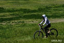 Виды микрорайона Академический. Екатеринбург, велопрогулка, велосипедист, отдых горожан, велосипед, лето в городе, велосипедная прогулка