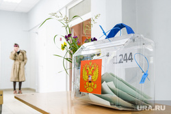 Голосование по поправкам в Конституцию РФ. Екатеринбург, участковая избирательная комиссия, ящик для голосования, избирательный участок, урна для голосования, общероссийское голосование, голосование за конституцию, голосование по поправкам в конституцию