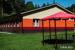 Подготовка к летней оздоровительной кампании в загородном лагере «Зарница». Свердловская область, Березовский, беседка, детский лагерь, летние каникулы, Зарница, загородный лагерь зарница