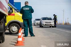 Пост ДПС на трассе. Сургутский район, полиция, гибдд, дпс, проверка документов