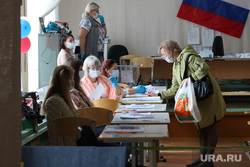 Избирательный участок по общероссийскому голосованию по поправкам в Конституцию РФ. Курган, триколор, флаг россии, избирательнй участок, общероссийское голосование