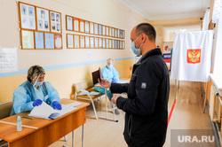 Общероссийское голосование. Челябинск, избирательный участок, голосование