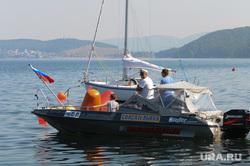Тургояк. Озеро. Челябинск., лодка, озеро, яхта, лето, регата, тургояк, спасательная, озеро тургояк