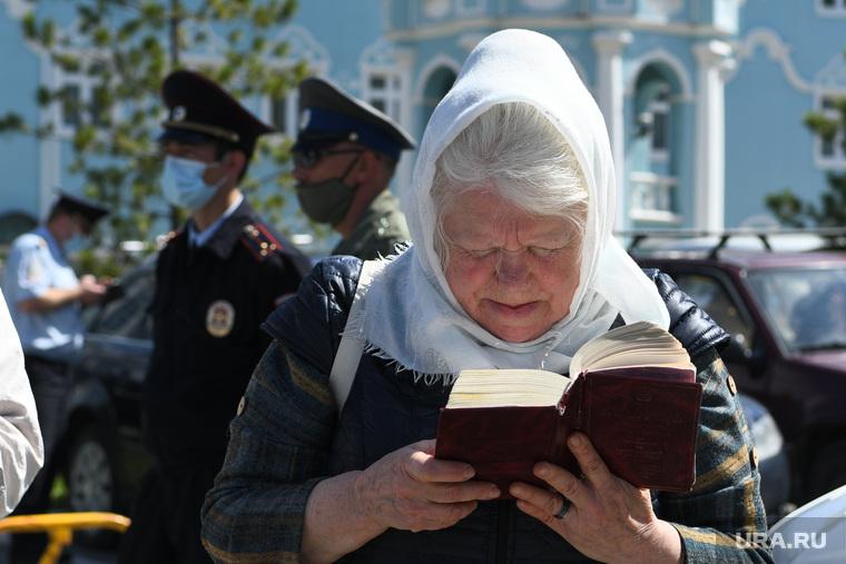 Третье заседание церковного суда над схиигуменом Сергием. Необр
