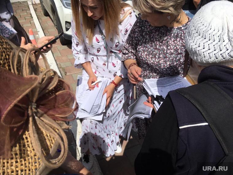 Сбор подписей за отца Сергия