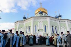 Крестный ход в Челябинске, церковь, крестный ход, митрополит никодим, рпц, религия, свято-симеоновский кафедральный собор, тефтелев евгений