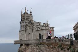 Клипарт pixabay. Viktor Levit , замок, отдых, море, крым, курорт, ялта, туризм, мыс