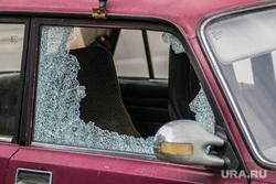 Разное. Курган, разбитое стекло, авария, дверца автомобиля, автокража