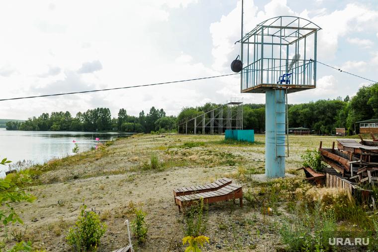 Частный пляж «Белый парус». Челябинск