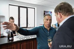 Открытие бесплатного теннисного корта «Жемчужина». Челябинск