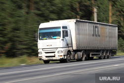 Клипарт. Дороги. Курган, фура, скорость, лето, трасса, автомобильный транспорт, грузовые перевозки, дальнобой