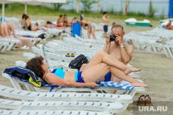 Частный пляж «Западный». Челябинск