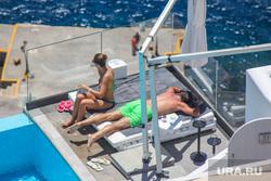 Санторини. Греция, море, отпуск, загар, отдых