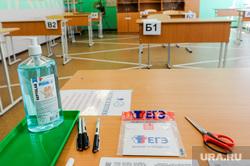 Алексей Текслер сдал пробный ЕГЭ по истории. Челябинск, егэ, санитайзер