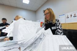 Избирательный участок 803. Подсчет бюллетеней. Челябинск, избирательная комиссия
