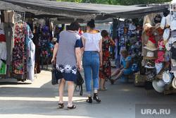 Городские рынки. Курган, торговля, покупатели, вещи, вещевой рынок, торговые ряды, рынок, некрасовский рынок