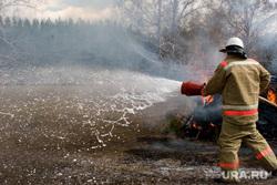 Пресс-конференция МЧС Курган, пожарный, тушение пожара