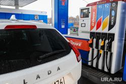 Поездка Алексея Текслера по отремонтированным дорогам. Челябинск, газпромнефть, автозаправка, азс, лада xray