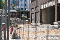Место похищения неизвестными жителя города Екатеринбурга со стройплощадки «Атомстройкомплекса». Екатеринбург, улица шейнкмана68л