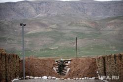 201-я российская военная база. Таджикистан, Душанбе, солдаты, военнослужащие цво, военная база, огневая точка, 201военная база, пулеметное гнездо
