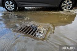 Последствия ливня в Челябинске, ливневая канализация, ливневка, ливень, потоп, дождь