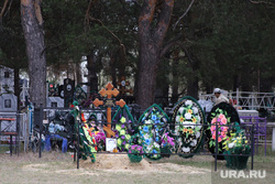 Кладбище Рябково. Курган, венок, кладбище