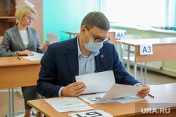 Алексей Текслер сдал пробный ЕГЭ по истории. Челябинск