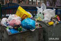 Виды на Храм Христа Спасителя. Москва, мусор, мусорные баки, мусорный бак, мусорный контейнер, мусорка, помойка, бытовые отходы