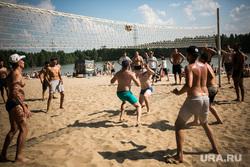 Пляжи Тюмени - Пруд Лесной: купание, загар, отдых, волейбол, еда. 11.07.2020, пляж, купание, загар, пруд лесной
