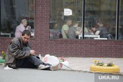 Виды Перми, бомж, бездомный, бедняк, нищий