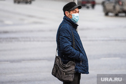 Екатеринбург во время пандемии коронавируса COVID-19, медицинская маска, защитная маска, маска на лицо, covid19, мужчина в маске, коронавирус