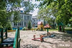 Архивные фото 2011 г. Павел Астахов посетил Курганский детский дом. Курган , детская площадка, курганский детский дом