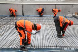 Строительство второй очереди завода СИБУР. Тобольск, рабочие, стройка, запсибнефтехим