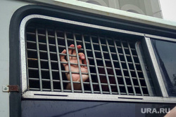 Марш в поддержку Ивана Голунова. Москва, автозак, рука, решетка, задержание