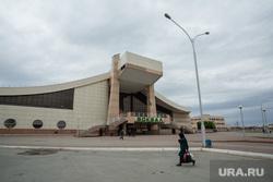 Виды города. Нижневартовск, железнодорожный вокзал, жд вокзал, город нижневартовск