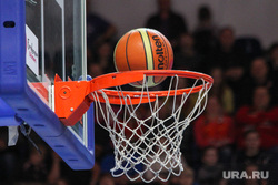 Спортивные клубы Екатеринбурга, баскетбол, баскетбольное кольцо, мяч в корзине, спорт