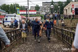 Последствия паводка в городе Нижние Серги (НЕОБРАБОТАННЫЕ). Свердловская область