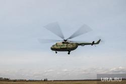 Тренировка десантников-пожарных. Свердловская область, поселок Заря, вертолет, ми-8, ми8, ми 8