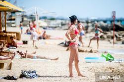 Отдых на полуострове Крым. Феодосия , девушка, отдых, море, крым, жара, отпуск, лето, пляж