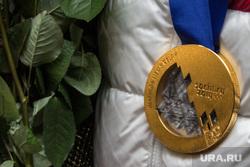 Встреча Алексея Волкова в аэропорту, Ханты-Мансийск, золотая медаль, олимпиада, sochi 2014, сочи  2014, олимпийская медаль