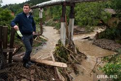 Последствия паводка в городе Нижние Серги. Свердловская область, куйвашев евгений, нижние серги, паводок