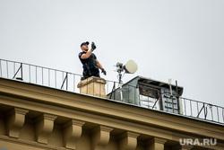 Несанкционированная акция против принятия поправок к Конституции РФ на Пушкинской площади в Москве. Москва, пушкинская площадь, спецподразделения фсб
