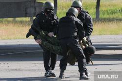 Спецназ. Учения. Армия. Терроризм.  Челябинск., спецназ, террорист