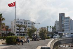 Виды Лимассола, Гирне, Куриона и Продромоса. ТРСК и Республика Кипр, турция, турецкий флаг, гирне