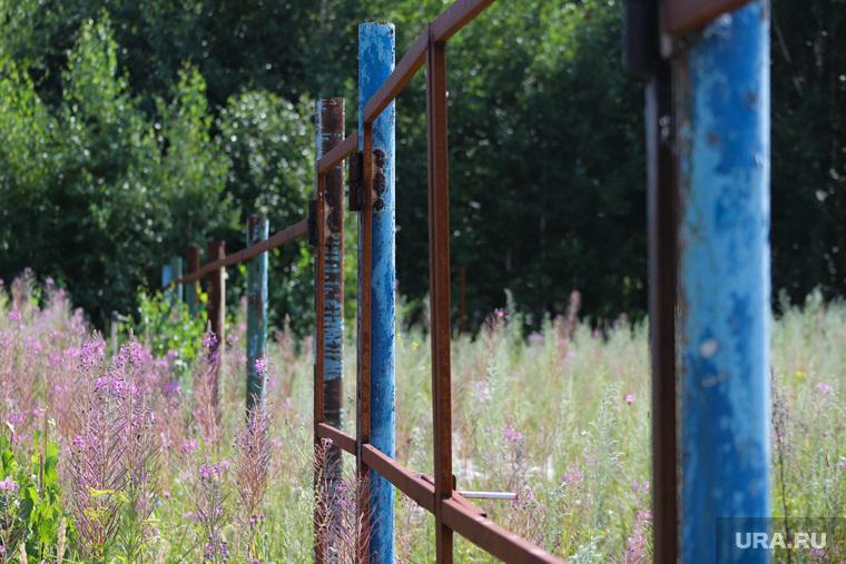 Заброшенный дачный участок бывшего руководителя Шуховского полигона. Курган