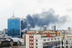 Пожар. Челябинск, пожар
