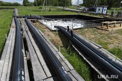 Пресс-тур на промышленное освоение Хохловского месторождения урана. Шумихинский район, далур, добыча урана, сорбционные трубы