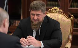 Клипарт. Сток Сайт президента России, кадыров рамзан